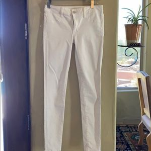 White jeans from American Eagle